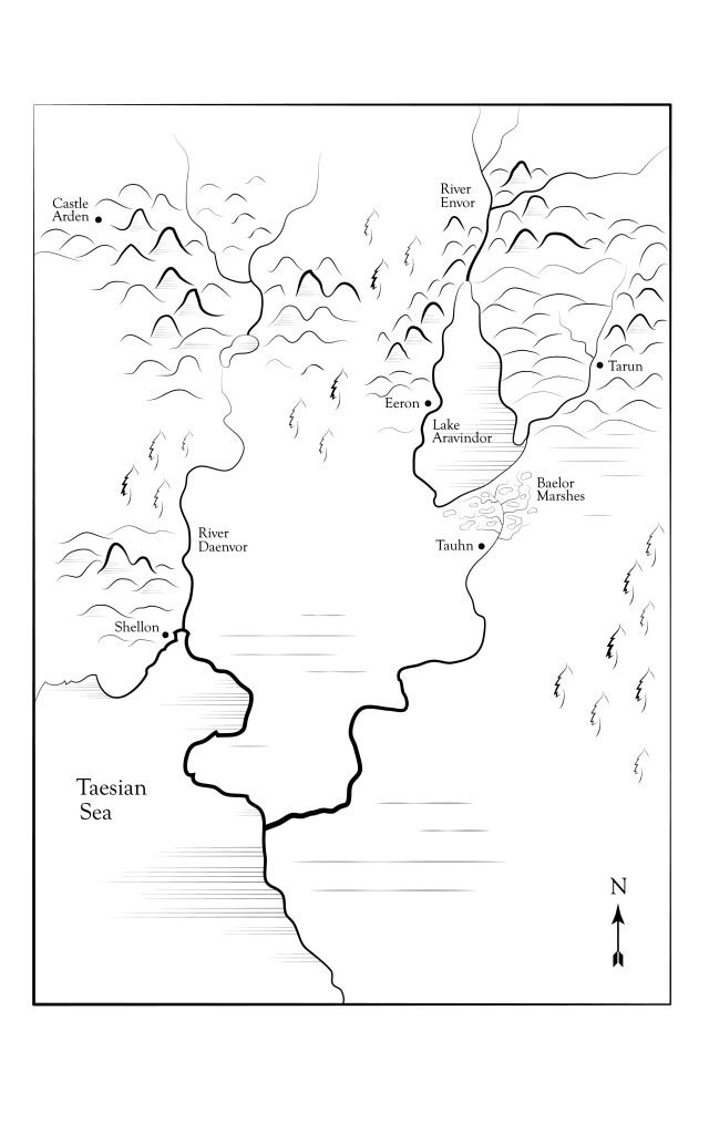 Map of Taesia