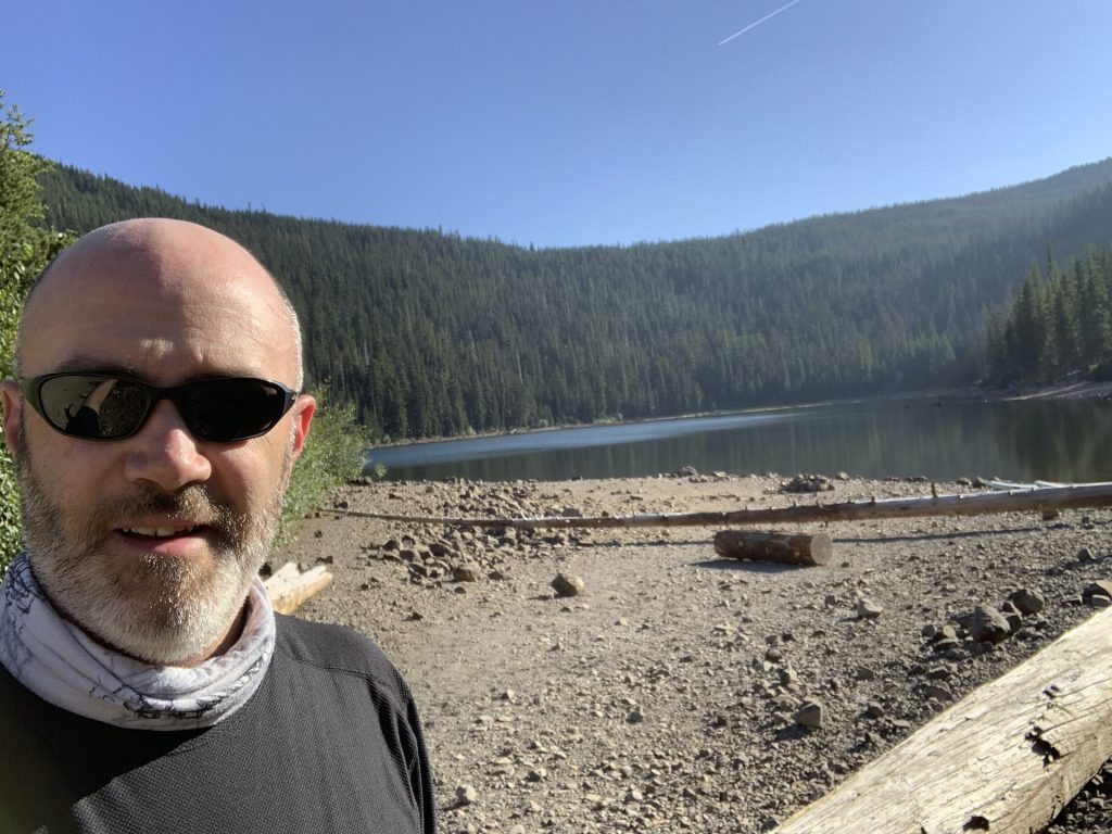 Me at Badger Lake.